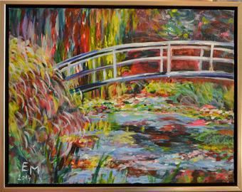 Mostek jako od Moneta