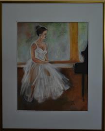Baletka u klavíru