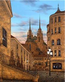Brno Kapucínské náměstí