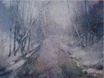Sněží /  Snowfall