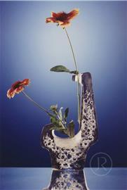 Květinová plastika